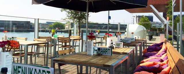 Talks & Treasures - Terrassen aan het water Rotterdam