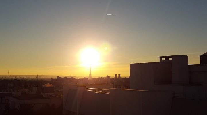 Parijs appartement huren dakterras