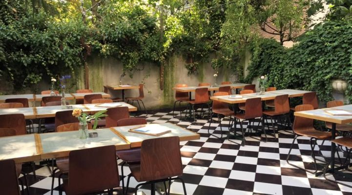 Talks & Treasures - Restaurant met tuin in Rotterdam