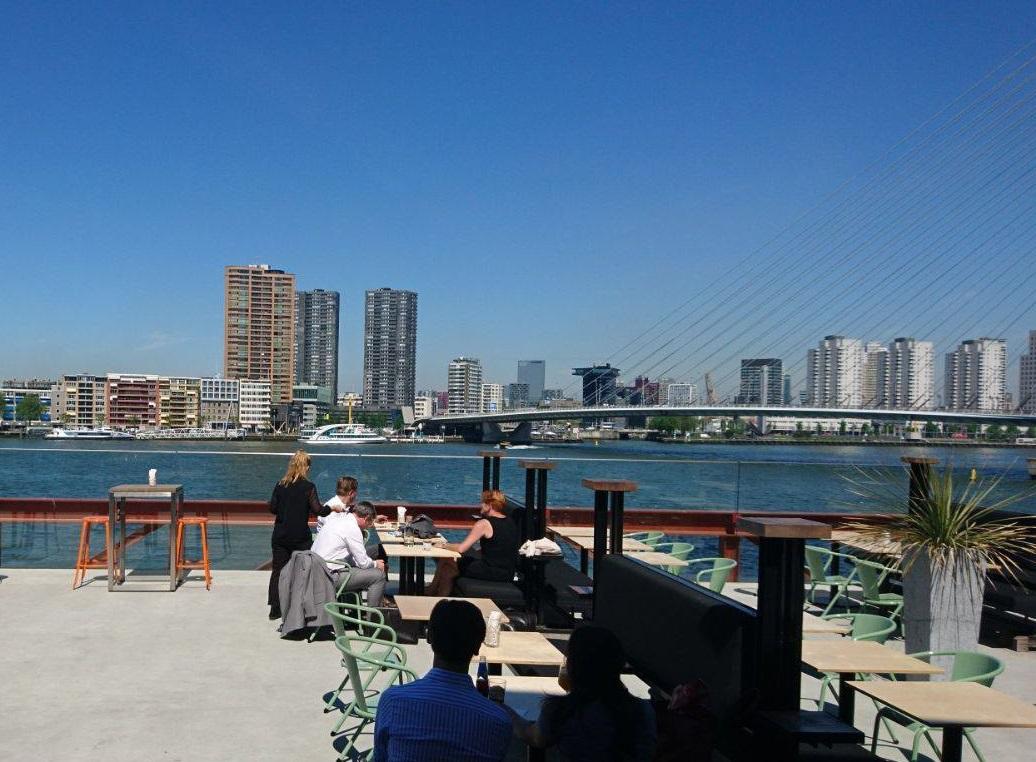 Talks & Treasures - Terrassen in Rotterdam- 15 leukste terrassen aan het water