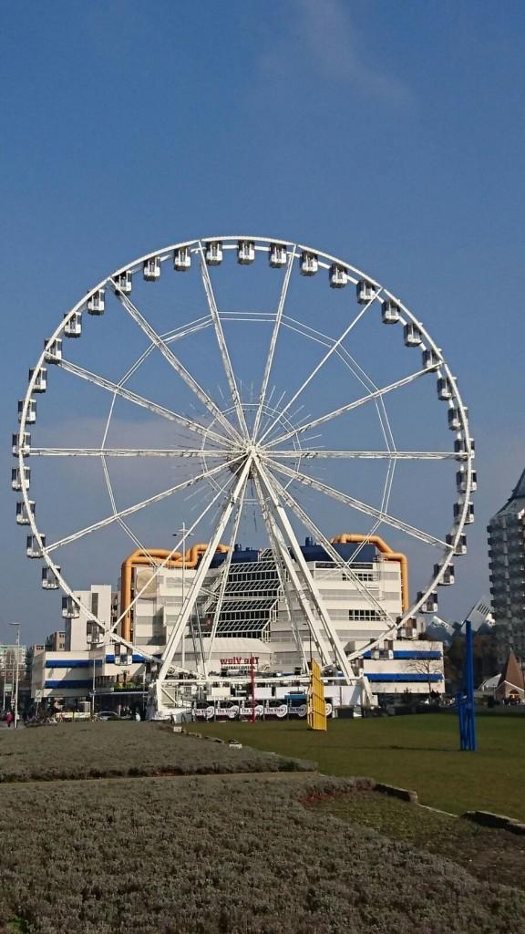 Reuzenrad in Rotterdam & weekendtips
