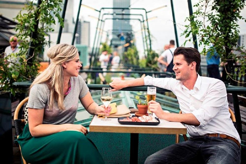 Talks & Treasures - de beste rooftop bars Rotterdam