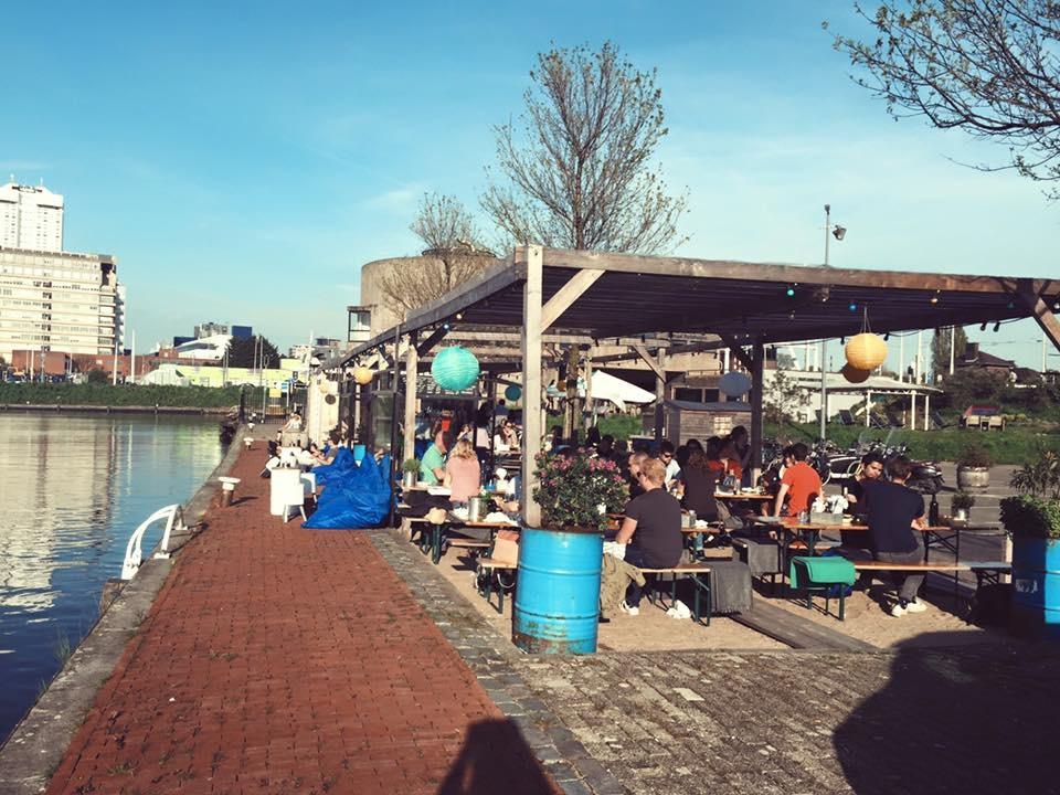 Talks & Treasures - Terrassen aan het water RotterdamDe Viskantine