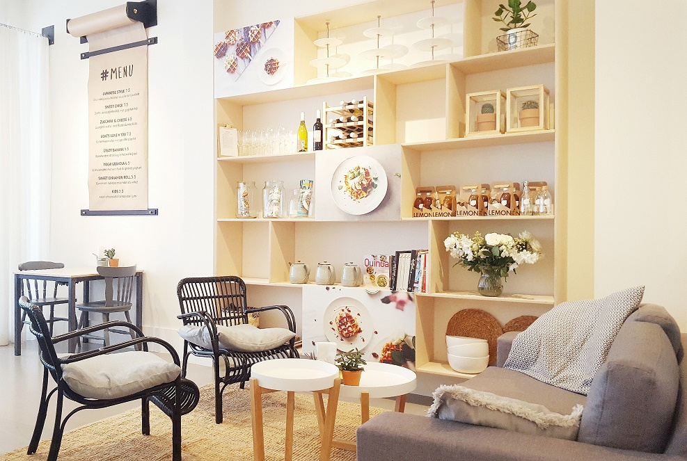 Talks & Treasures - KEET's café nieuw menu en interieur