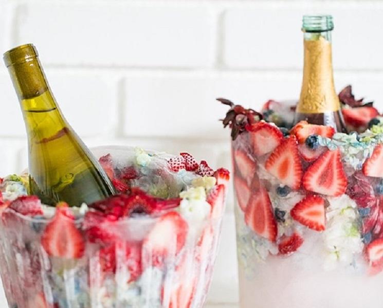 Zomerdrankjes en zonnige cocktails