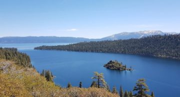 Talks & Treasure - Lake Tahoe - groen aan het water
