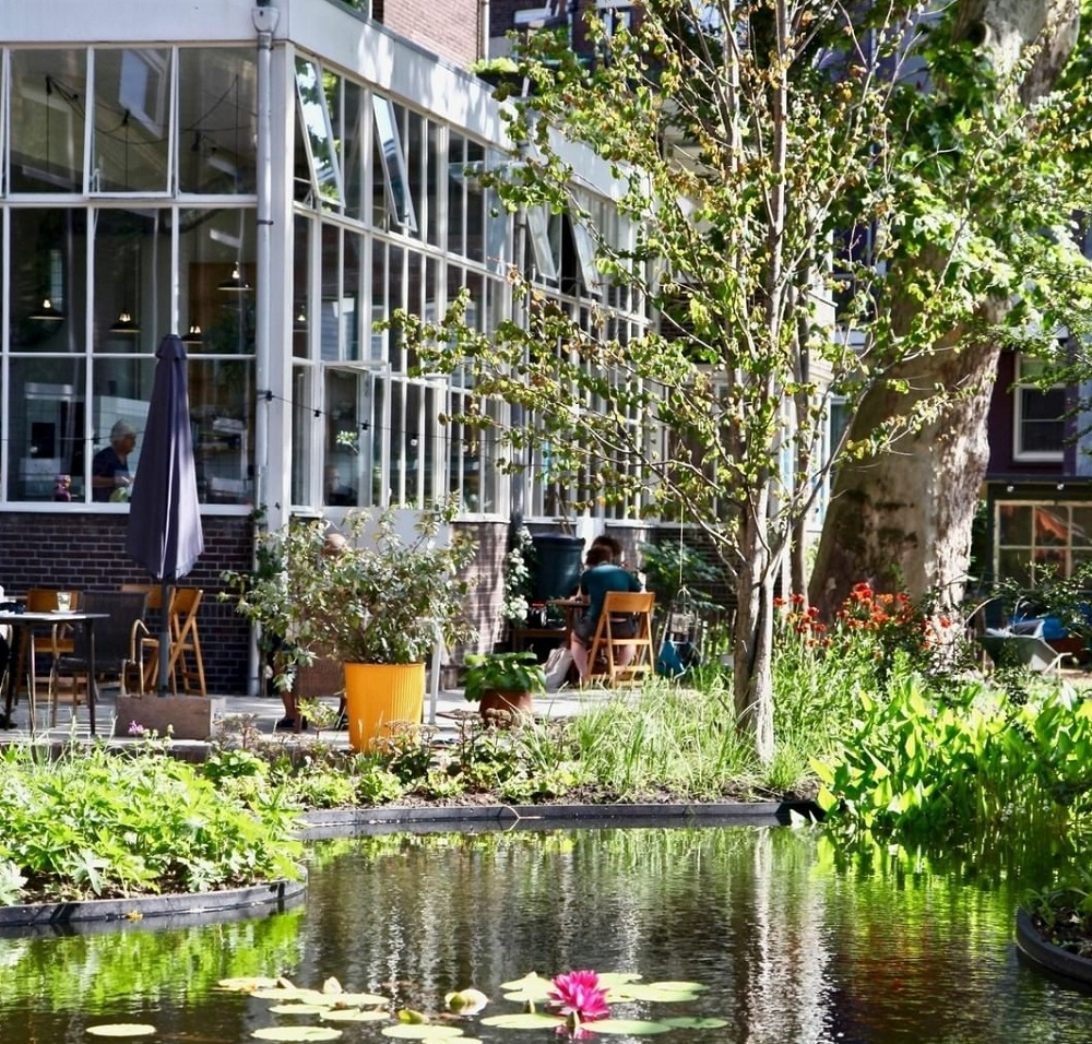 Talks & Treasures - restaurants met tuin Rotterdam